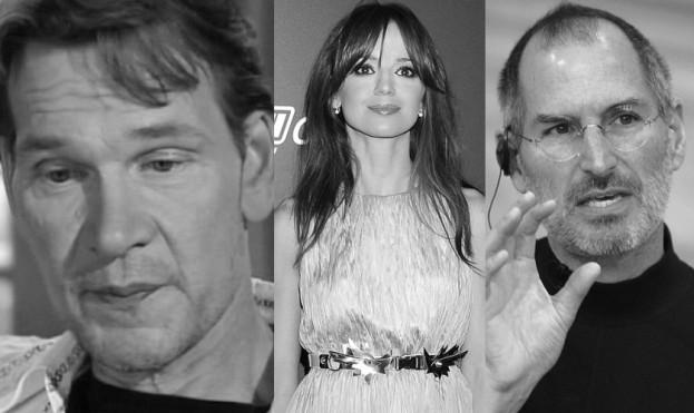 Ofiary raka trzustki: Anna Przybylska, Patric Swayze, Steve Jobs